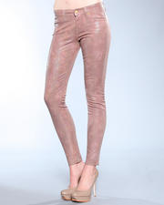 DJP OUTLET - High Gloss Snake Skinny Pant