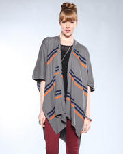DJP OUTLET - Joseph Cashmere Blend Stripe Cardigan