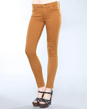 DJP OUTLET - Slim Illusion Twill Colored Skinny Jean