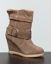 Shoes - Haley Wedge Bootie