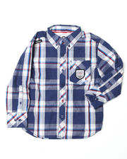 Long-Sleeve - Beat Woven  (2T-4T)