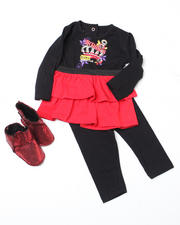 Girls - 3pc Tunic with Ugg Set