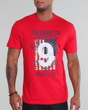 USA Rugby - Graphic Crew Neck Tee