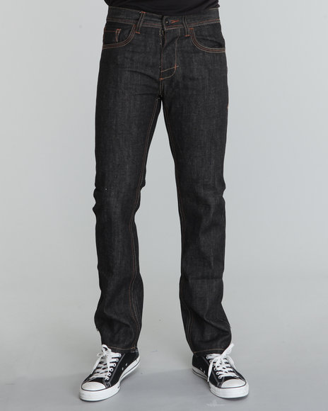 Buyers Picks Men Black Basic Skinny/Straight Denim Jeans