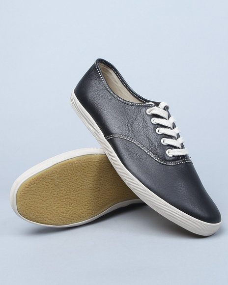Pro Keds - Black Leather Champion Sneakers