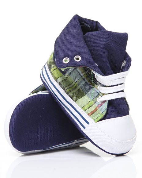 - Fold Over Hi-Top Sneaker (INF)
