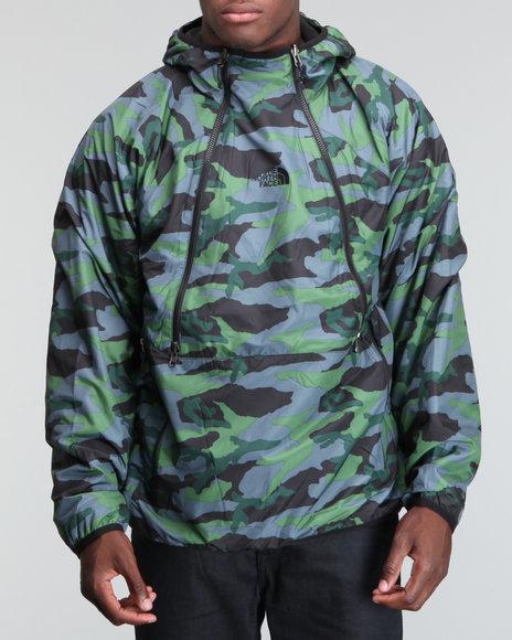 The North Face Black,Camo Narrows Fleece Camo Jacket