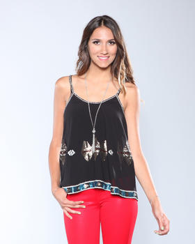 DJP OUTLET - Xanthe Sioux Sequined Top