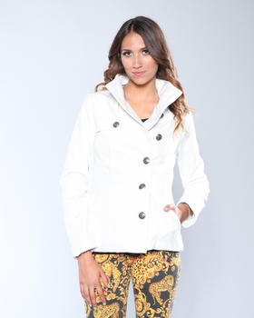 DJP OUTLET - Cecilia Plush Stand Collar Jacket