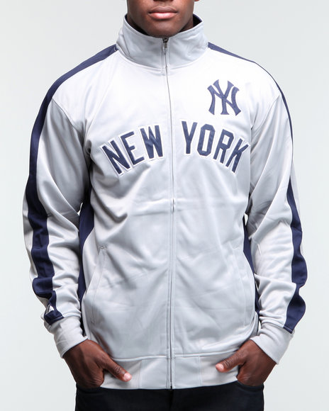 new york yankees tricot track jacket