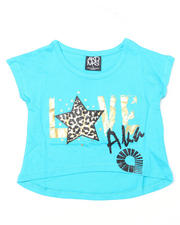 Tops - Love AKA Cropped Tee (4-6X)