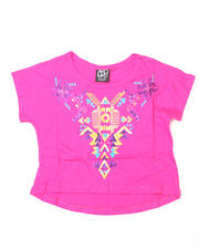 7-16 Big Girls - Dana Cropped Short Sleeve Tee (7-16)