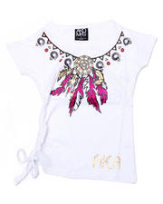 ***White Shop - Mary Assymetrical Tee (4-6X)