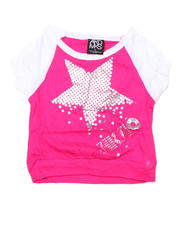 Tops - Diamond Star Raglan (4-6X)