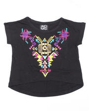 Girls - Dana Cropped Short Sleeve Tee (4-6X)