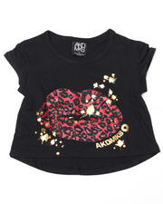 4-6X Little Girls - Tina Assymetrical Tee (4-6X)