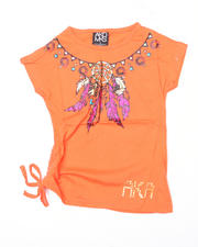 4-6X Little Girls - Mary Assymetrical Tee (4-6X)