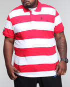 Shirts - Striped Polo (B&T)