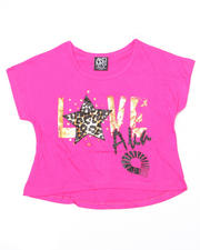 Girls - Love AKA Cropped Tee (4-6X)