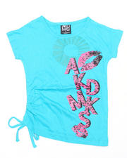 Girls - Lipp Assymetrical Top (7-16)