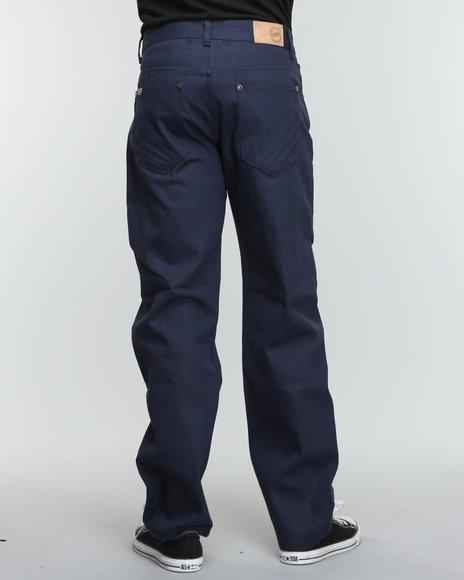 Akademiks Men Dark Wash The 365 Raw Denim Jeans