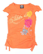 7-16 Big Girls - Jessica Short Sleeve Tee (7-16)