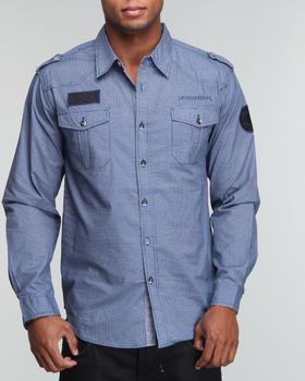 Basic Essentials - ILink Pin Dot Woven Shirt