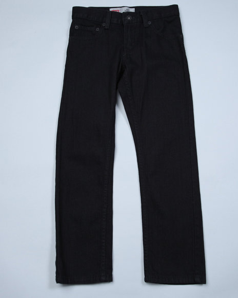Levi's Boys Black 511 Skinny Fit Jeans (8-20)