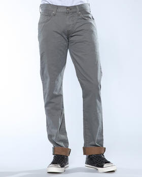DJP OUTLET - Colored Twill w/ Contrast Cuff Pant