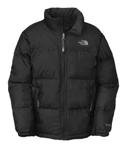 The North Face Boys Black Nuptse Jacket (4-7)