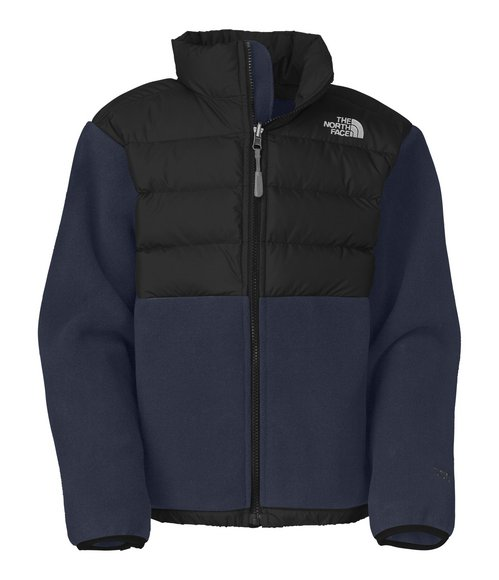The North Face Boys Blue Denali Down Jacket