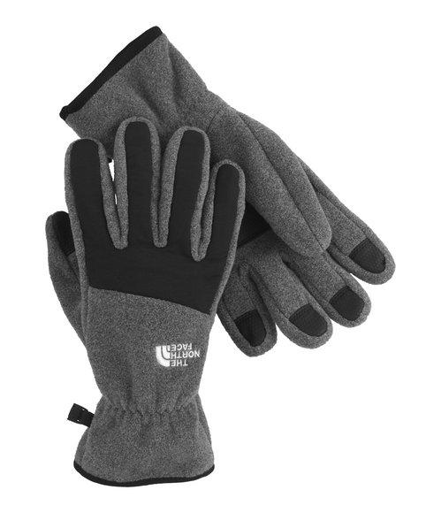 The North Face - Men Grey Denali Gloves