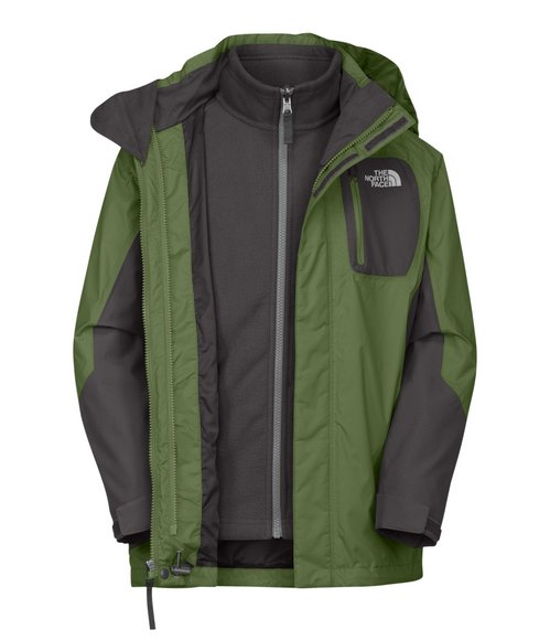 The North Face Boys Green Atlas Triclimate Jacket