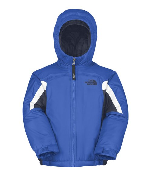 The North Face Boys Blue Insulated Out Of Bounds Jacket (2T-4T)