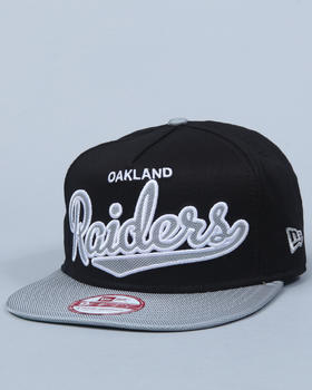 New Era - Oakland Raiders Ballistic Scripter A-frame Adjustable Cap