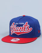 Accessories - New York Giants  Ballistic Scripter A-frame Adjustable cap