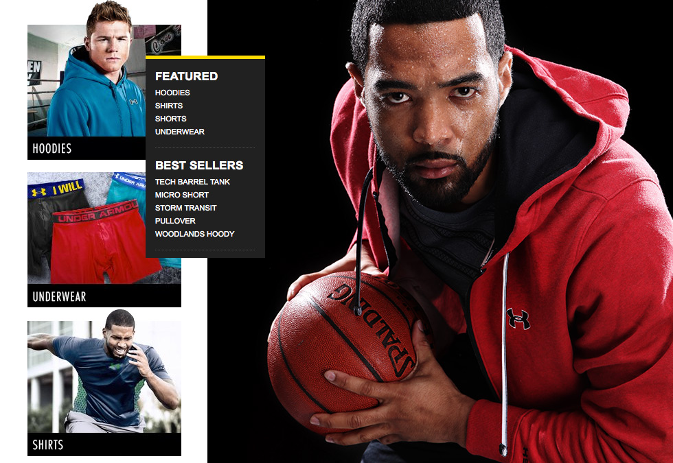 Under Armour at DrJays.com