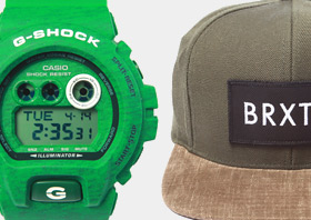 Shop Men's Hats and Watches