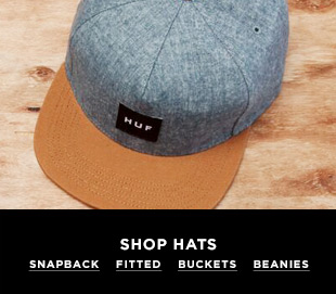 Shop Hats - Snapback, Fitted, Beanies at DrJays.com