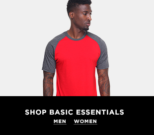 Shop Basic Essentials at DrJays.com
