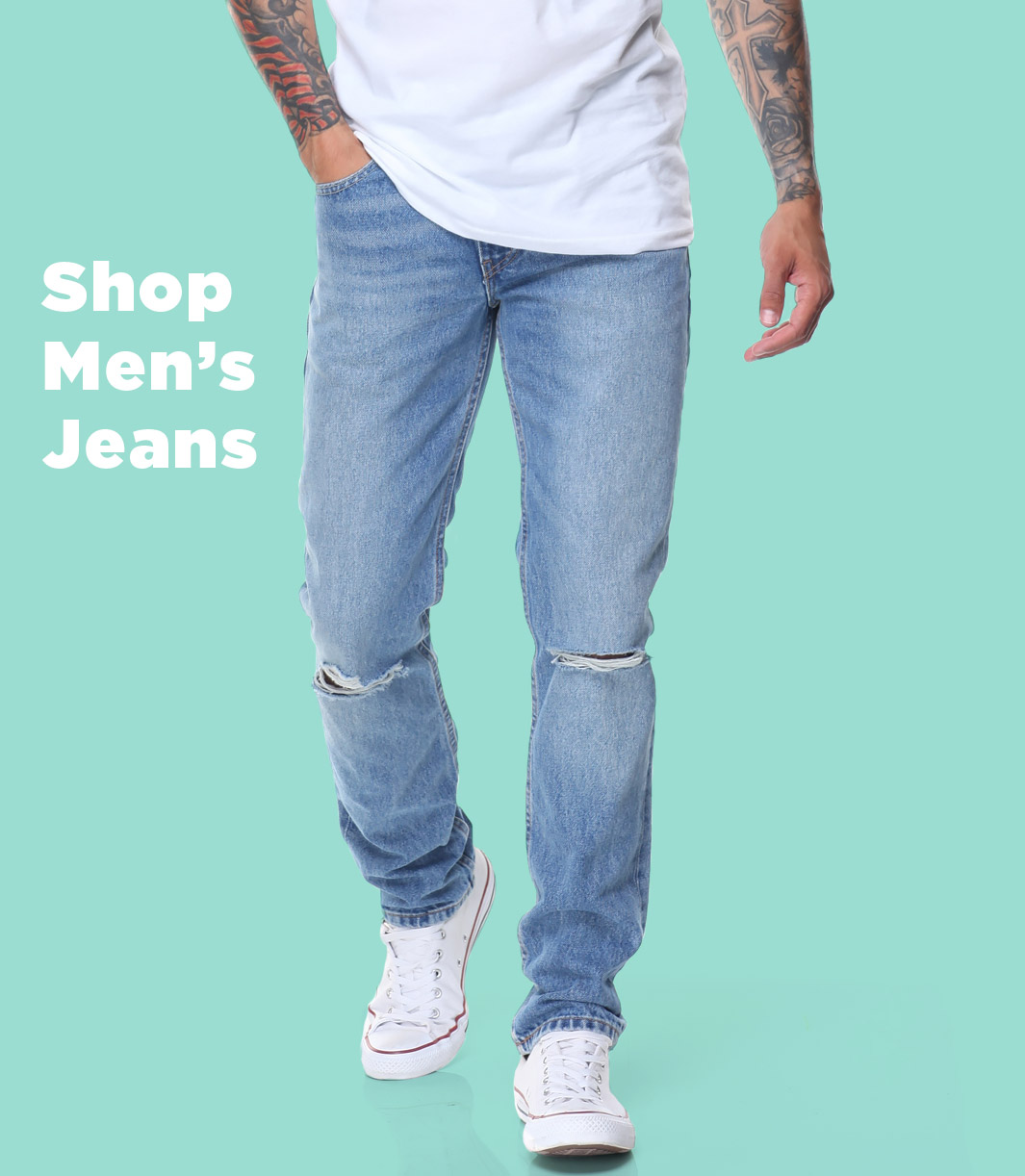 shop men's jeans at drjays.com