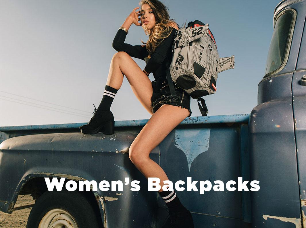 shop women's backpacks at drjays.com