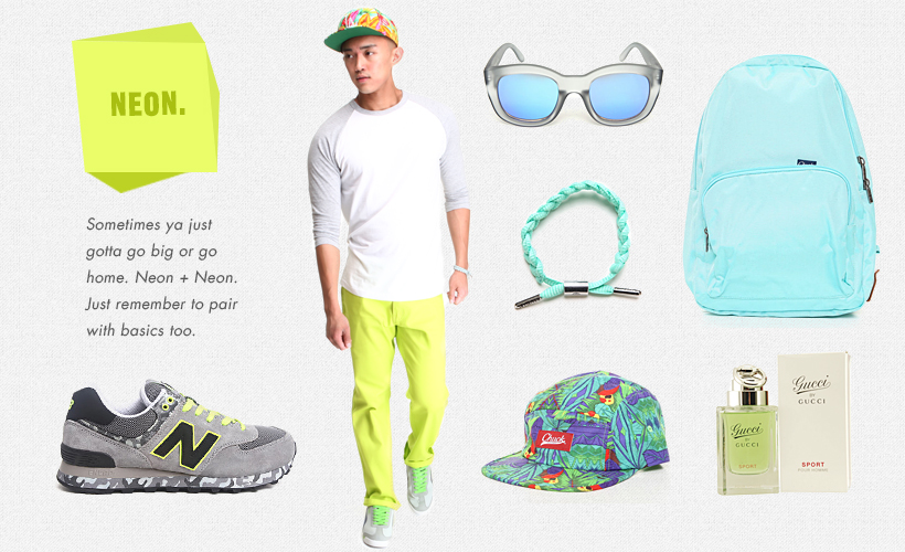 Pop of Color Trend for Men at DrJays.com