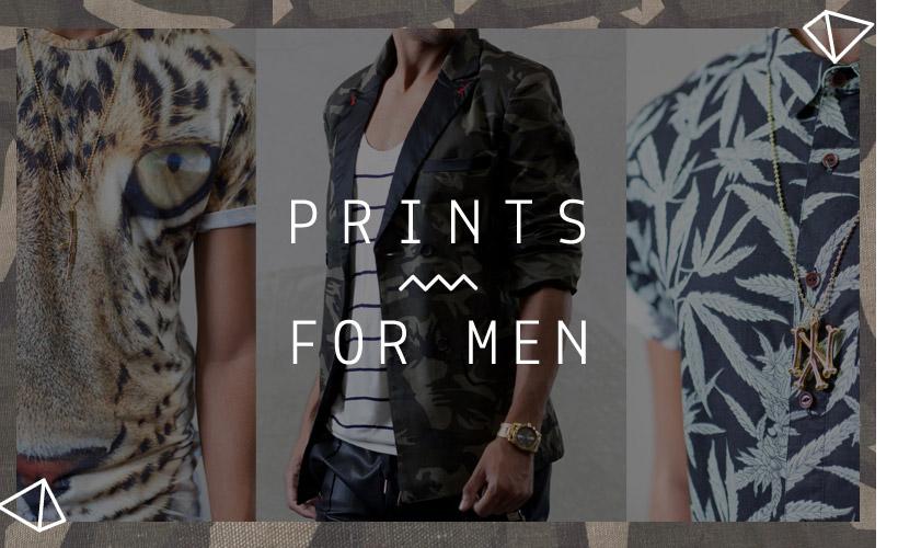 Prints for Men at DrJays.com