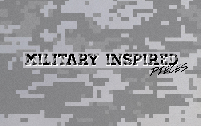 Men's Military Inspired at DrJays.com