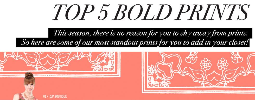 Womens Bold Prints